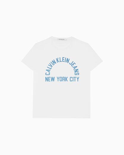 CALVIN KLEIN NYC LOGO GRAPHIC TEE