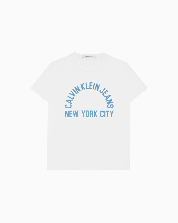 CALVIN KLEIN NYC LOGO GRAPHIC 上衣
