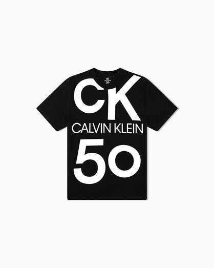 CALVIN KLEIN CK50 OVERSIZED LOGO TEE