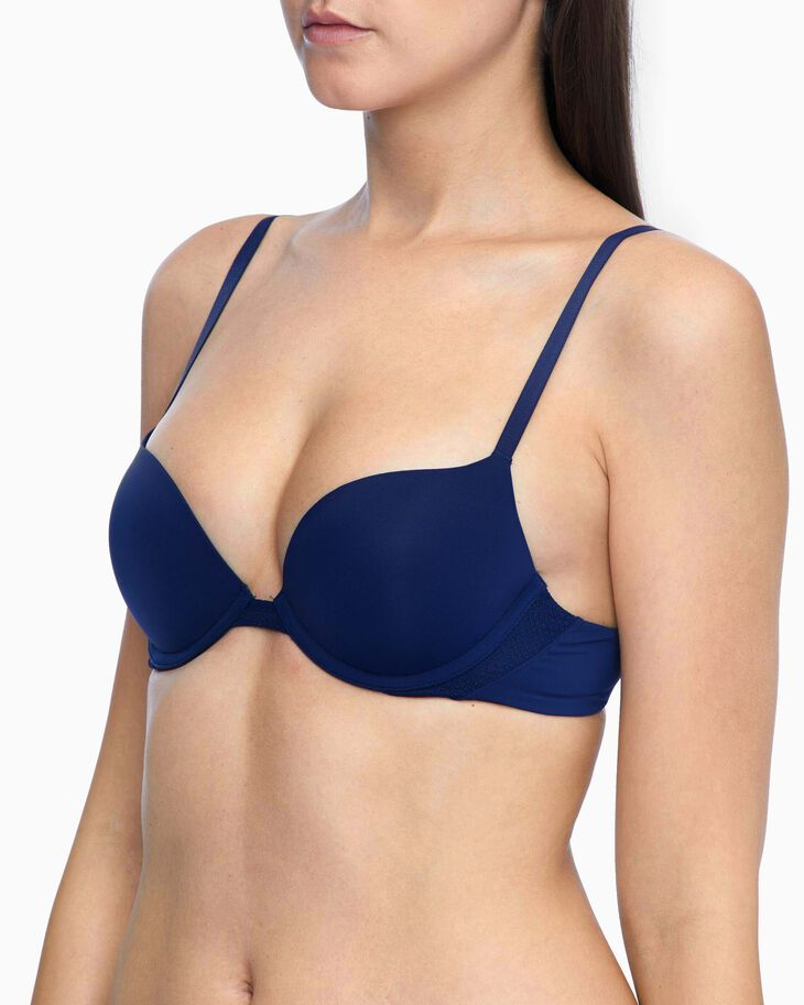 CALVIN KLEIN PERFECTLY FIT FLEX PUSH UP PLUNGE BRA