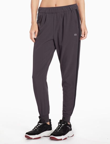 CALVIN KLEIN WOVEN TAPER SWEAT PANTS