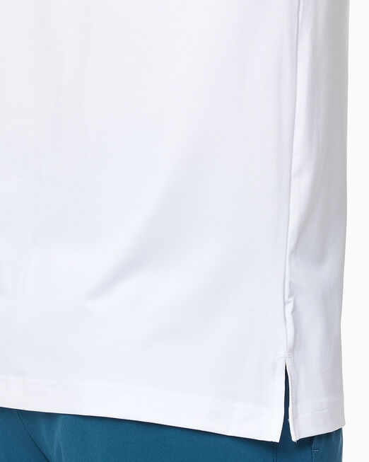 CALVIN KLEIN 남성 레귤러 핏 로고 트레이닝 반팔 티셔츠