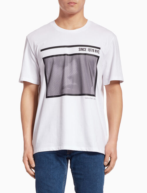 CALVIN KLEIN GRAPHIC PRINT SHORT-SLEEVE TEE