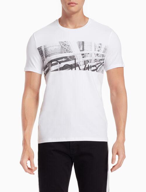 CALVIN KLEIN CITYSCAPE ロゴ T シャツ