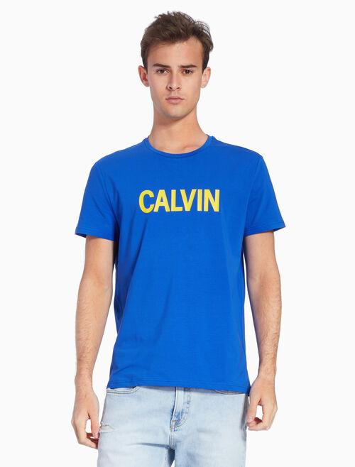 CALVIN KLEIN KNIT ロゴ T シャツ