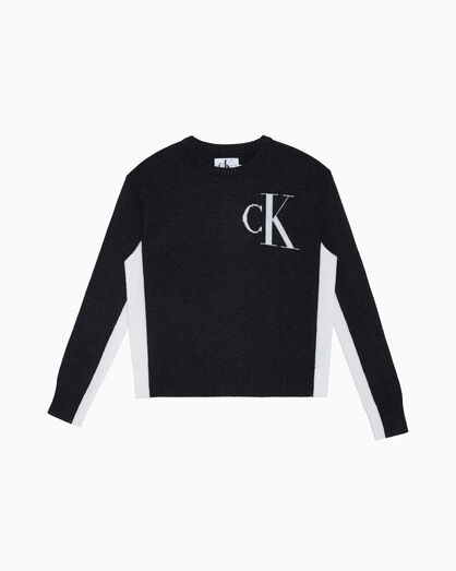 CALVIN KLEIN ARCHIVE LOGO SWEATER