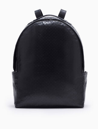 CALVIN KLEIN ENGINEERED CITY WAXED CALF PERFORATED BACKPACK