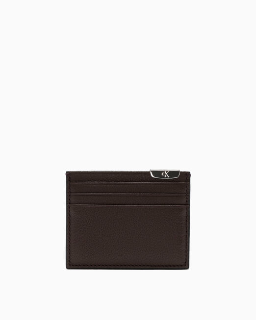 CALVIN KLEIN MICRO PEBBLE CARD CASE