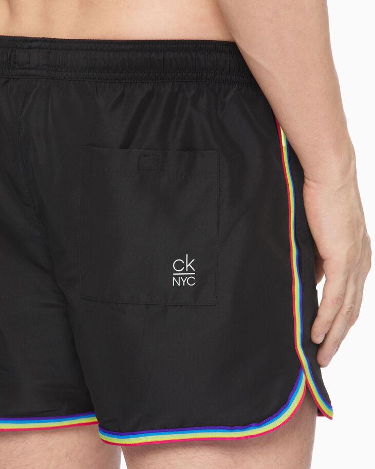 CALVIN KLEIN CK NYC RAINBOW 泳裝短褲