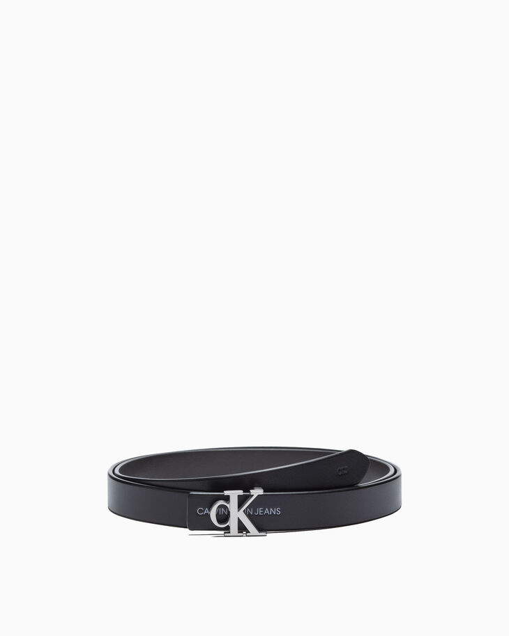 CALVIN KLEIN MONOGRAM REVERSIBLE BELT 24MM