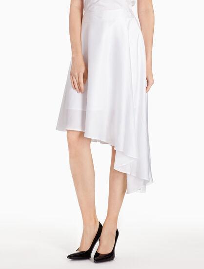 CALVIN KLEIN WOVEN ASYMMETRIC 短裙