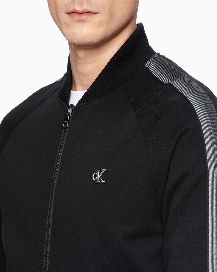 CALVIN KLEIN REVERSIBLE ZIP UP JACKET