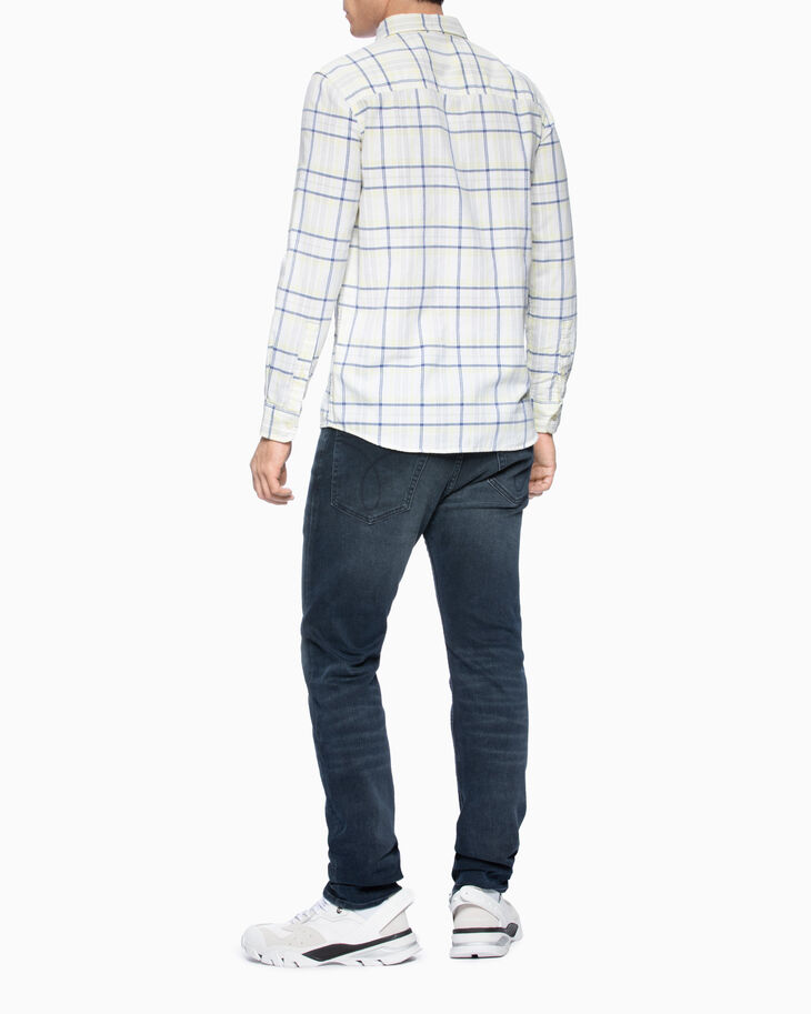 CALVIN KLEIN CHECK SLIM FIT SHIRT