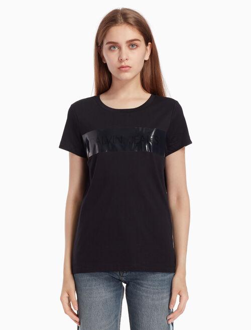 CALVIN KLEIN Tiara ロゴ T シャツ