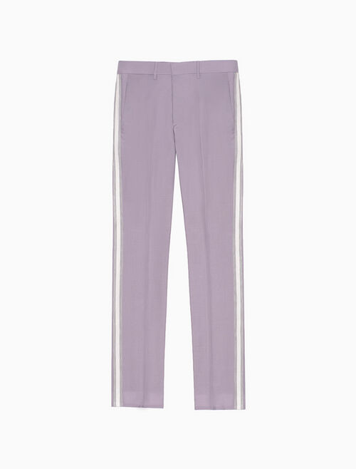 CALVIN KLEIN CLASSIC STRAIGHT-LEG MARCHING BAND PANT
