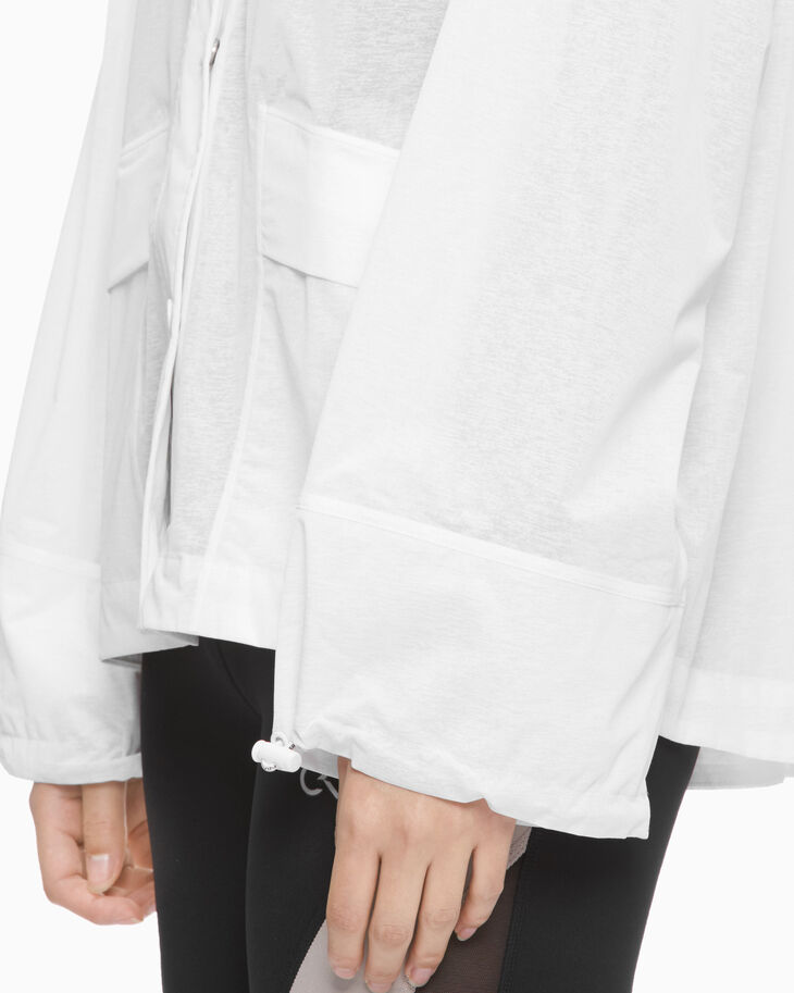 CALVIN KLEIN STATEMENT ESSENTIALS PLEAT JACKET