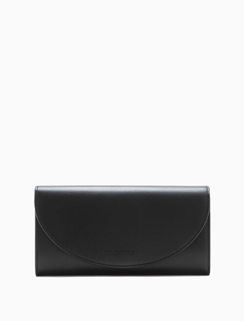 CALVIN KLEIN LONG ROUND FLAP WALLET