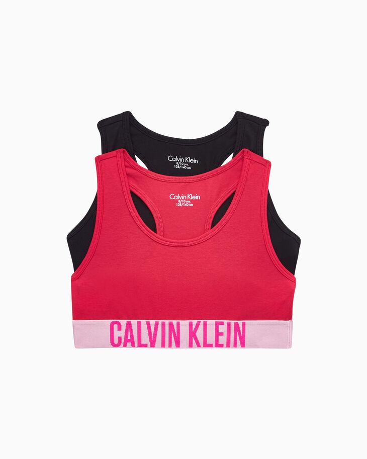CALVIN KLEIN GIRLS INTENSE POWER ブラレット 2枚組パック