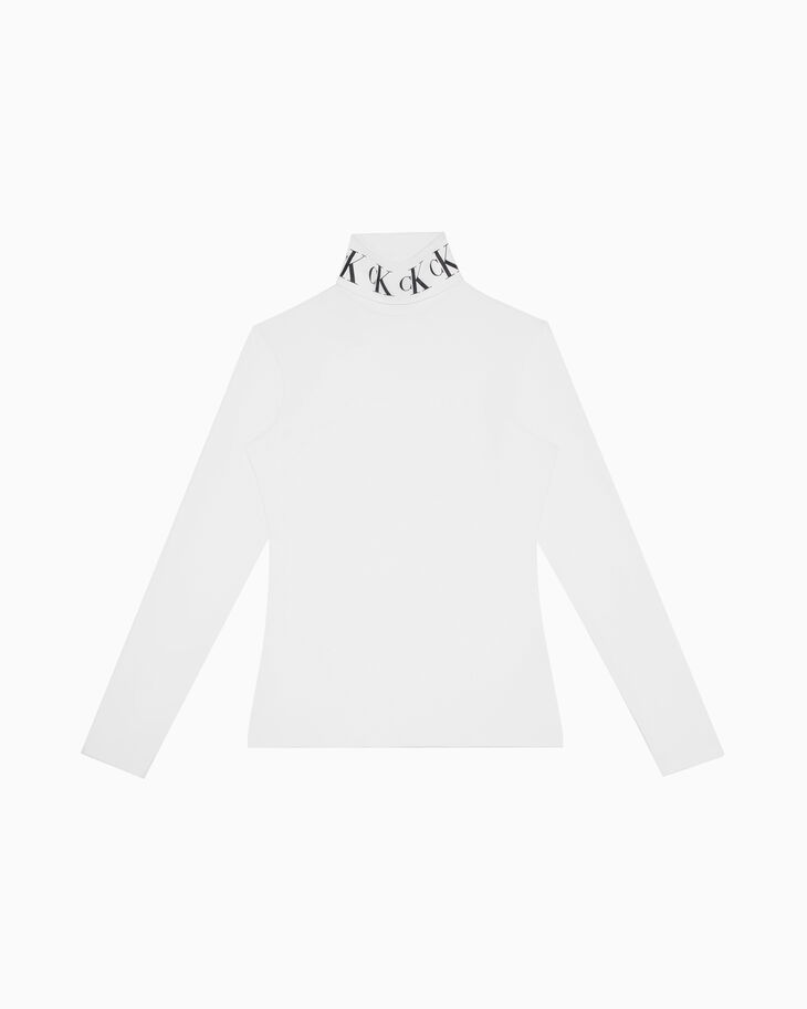 CALVIN KLEIN MONOGRAM TURTLENECK 롱 슬리브 티셔츠