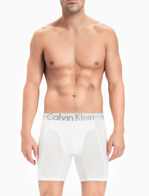 CALVIN KLEIN FOCUSED FIT COTTON 貼身長版四角褲