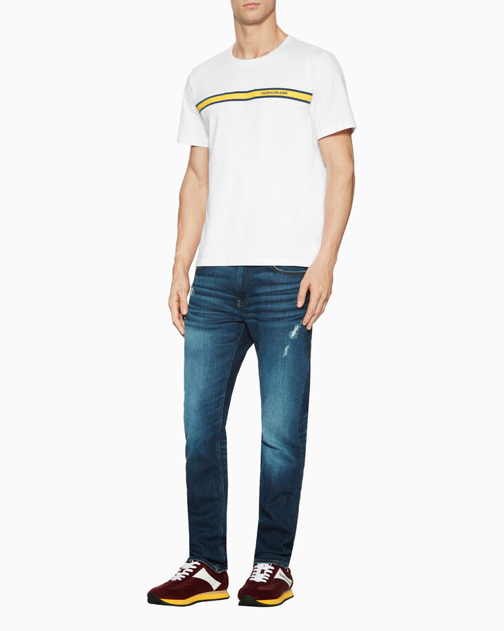 CALVIN KLEIN INSTITUTIONAL LOGO BAND TEE