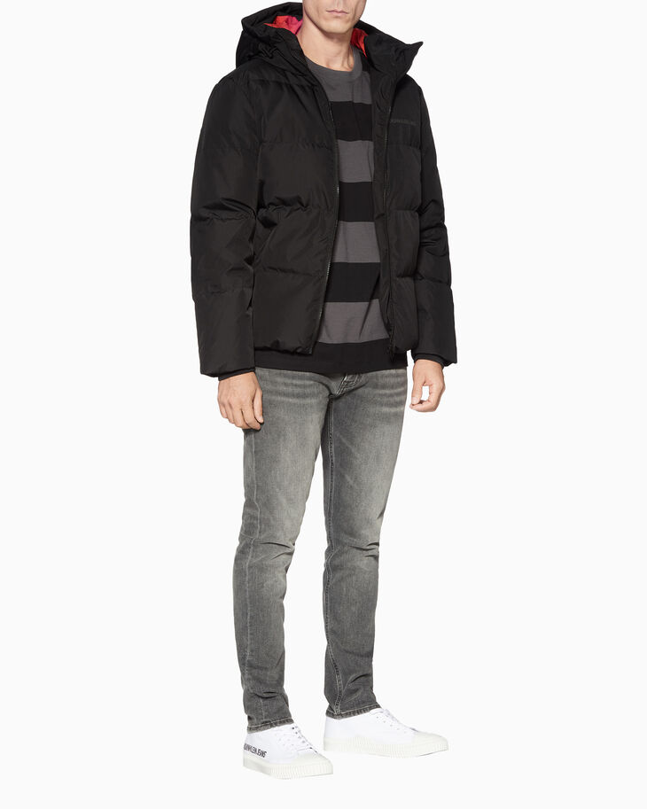 CALVIN KLEIN ZIP UP PUFFER JACKET