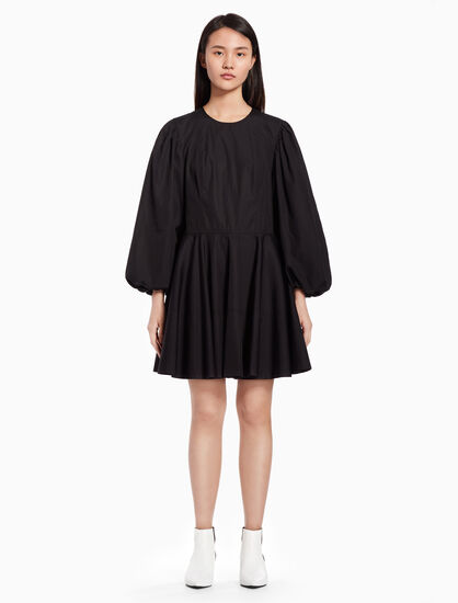 CALVIN KLEIN Puff sleeve dress