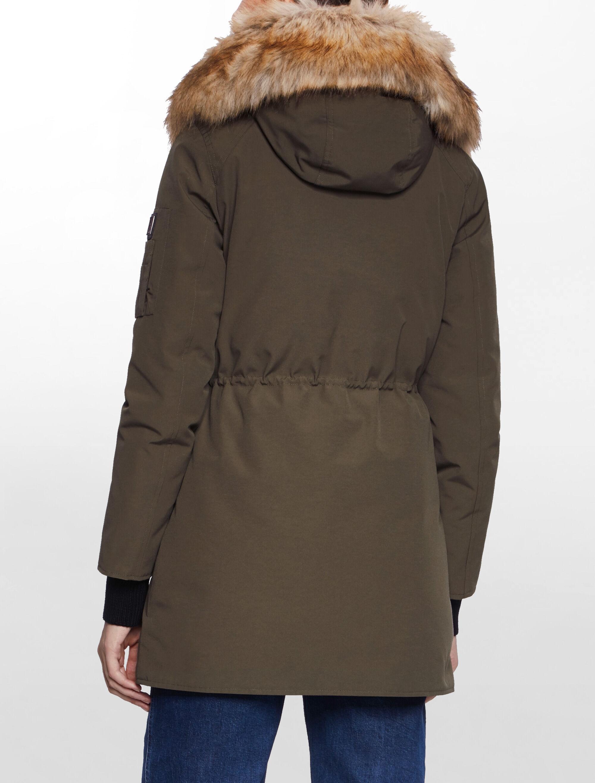 Calvin Klein Jeans Women's Olivia MW Down Hoode Coat