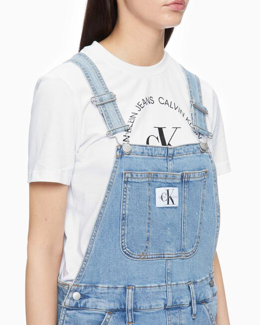 CALVIN KLEIN SUSTAINABLE ICONS 오버롤 드레스