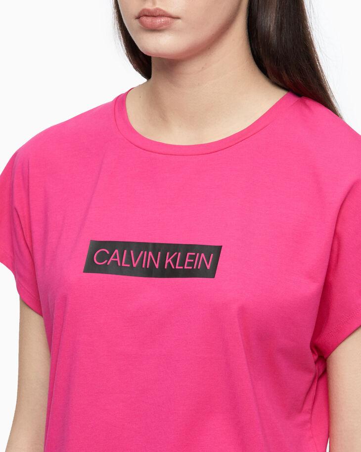 CALVIN KLEIN SUMMER UTILITY CROPPED LOGO 上衣