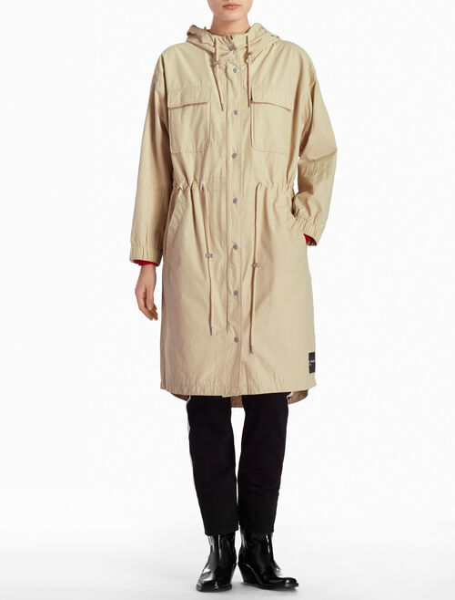 CALVIN KLEIN LONG UTILITY JACKET