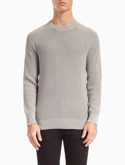 CALVIN KLEIN SPOTTON SWEATER IN REGULAR FIT