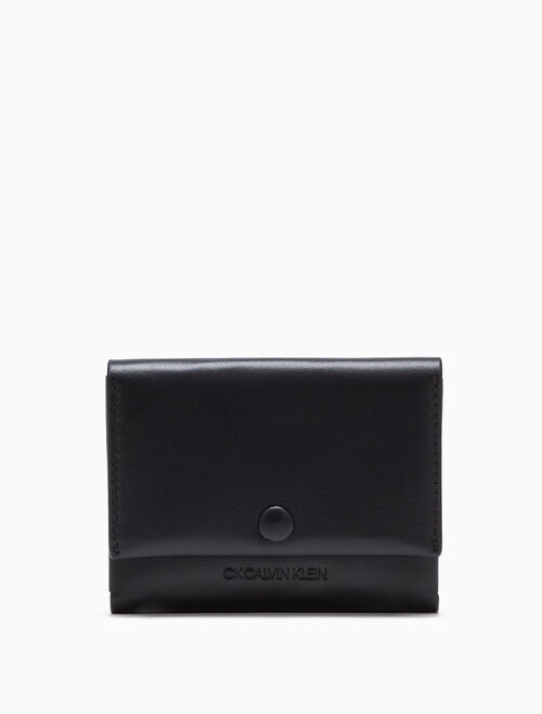 CALVIN KLEIN LEATHER CARDHOLDER