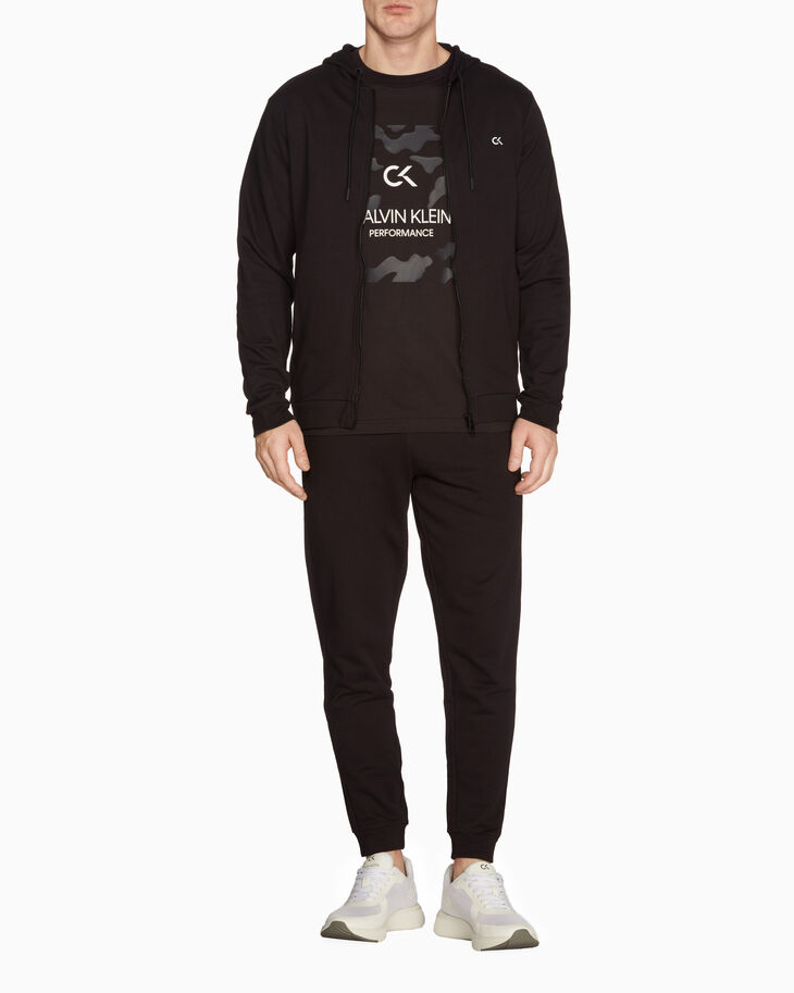 CALVIN KLEIN STATEMENT ESSENTIALS BILLBOARD ジップアップ フーディ