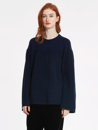 CALVIN KLEIN WOOL CASHMERE Long Sleeves TOP