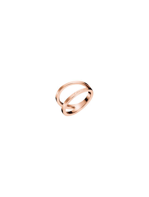 CALVIN KLEIN OUTLINE RING