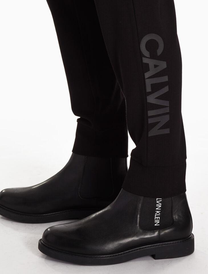 CALVIN KLEIN 로고 조깅 팬츠