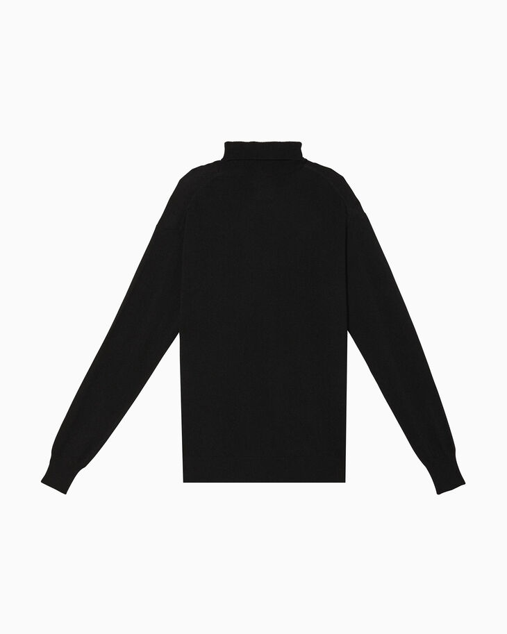 CALVIN KLEIN OK LOGO TURTLENECK SWEATER