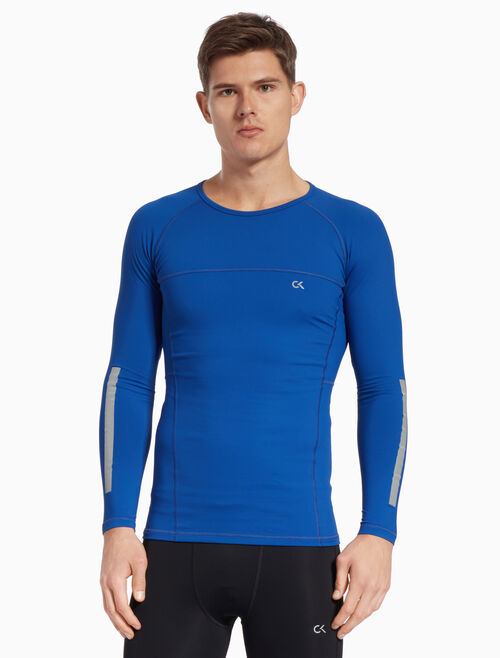 CALVIN KLEIN REFLECTIVE LONG SLEEVE TEE