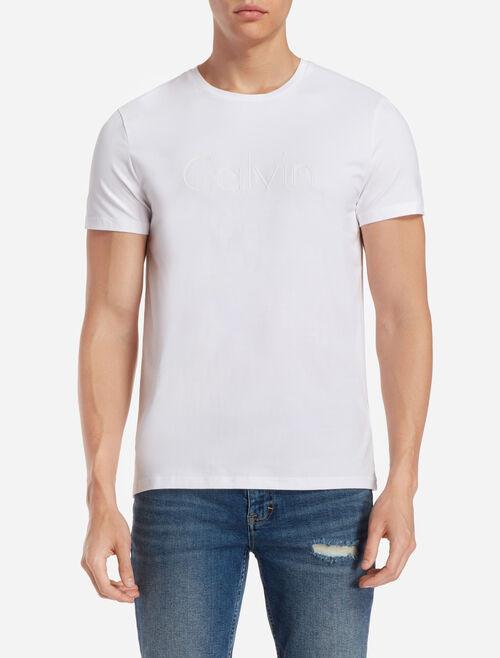 CALVIN KLEIN EMBOSSED LOGO 티셔츠