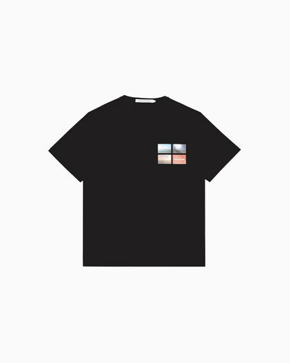 CALVIN KLEIN PHOTO PRINT LOGO TEE