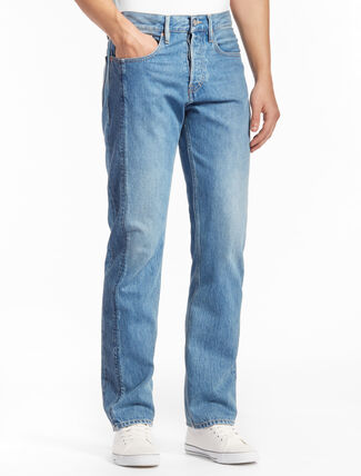 CALVIN KLEIN KANSAI BLUE WASH 窄管牛仔褲