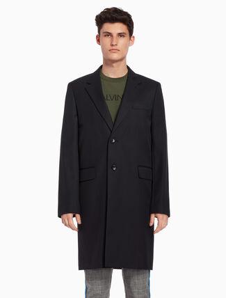 CALVIN KLEIN Twill long blazer