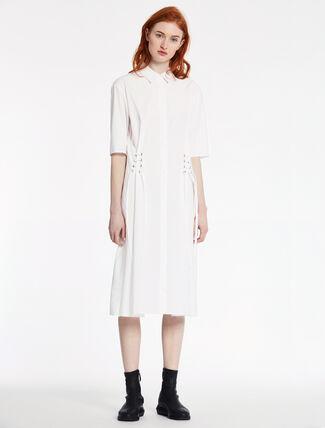 CALVIN KLEIN ソフトデンスポプリン ショートスリーブ ドレス
