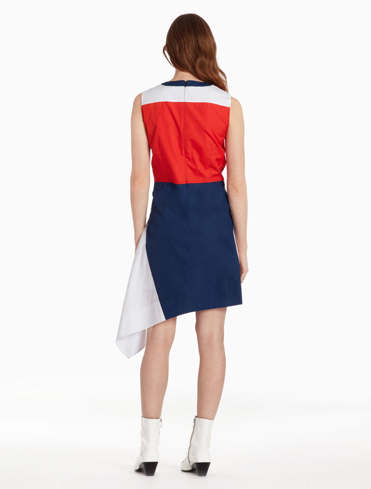 CALVIN KLEIN RETRO COLOR BLOCK ドレス