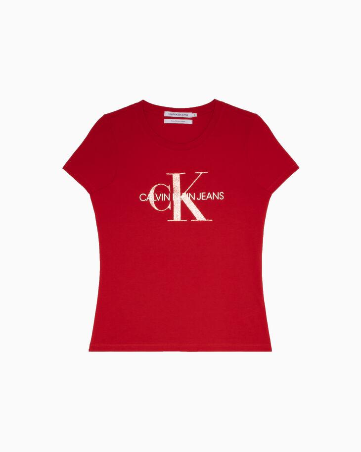 CALVIN KLEIN CNY CAPSULE モノグラム T シャツ
