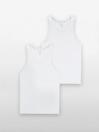 CALVIN KLEIN MODERN COTTON STRETCH TANK 2 PACK