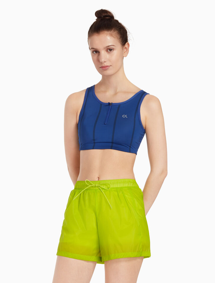 CALVIN KLEIN SPORTS BRA WITH REMOVABLE PAD