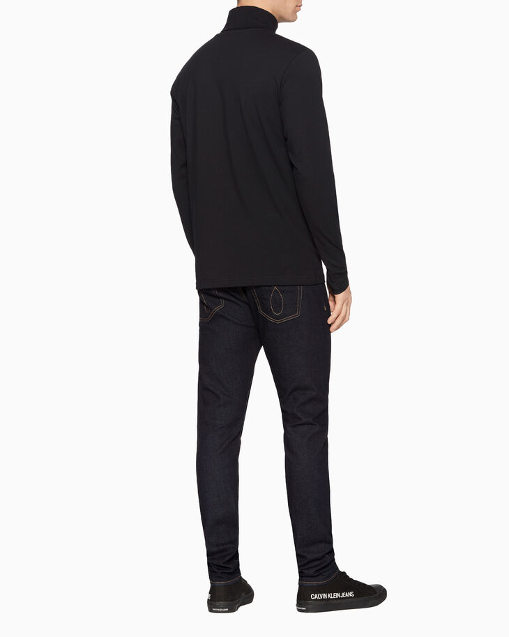 CALVIN KLEIN TURTLENECK LONG SLEEVE TEE