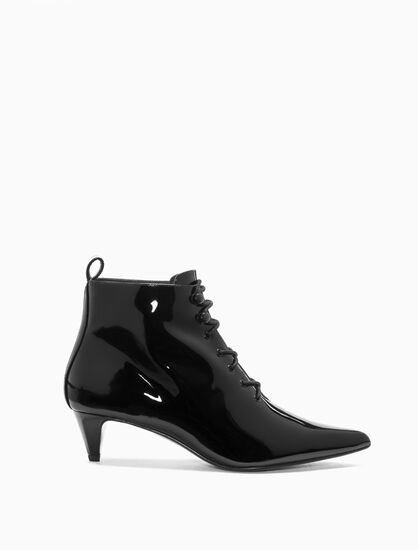 CALVIN KLEIN CLAUDIA LACE UP HEELS